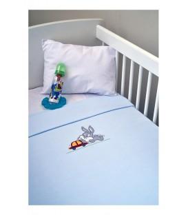 Baby Looney Tunes Fleece Κουβέρτα des.31 Αγκαλιάς
