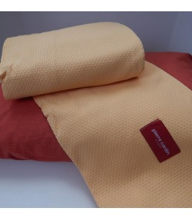 Pierre Cardin πικέ κουβέρτα des.205 υπέρδιπλη κίτρινη