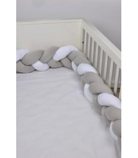 Baby Oliver des.140 Πλεξούδες Προστασίας Κρεβατιού