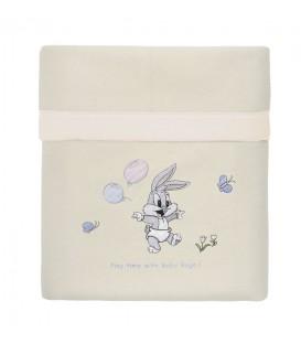Baby Looney Tunes Κουβέρτα Fleece des.16 Κούνιας