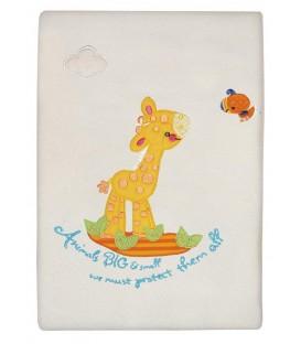 Fisher Price Κουβέρτα Fleece des.201 Κούνιας